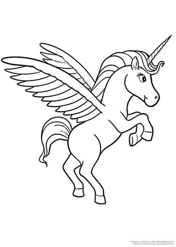 Imagenes De Unicornio Kawaii Para Dibujar Colorear Con Frases Unicorn Coloring Pages Animal Coloring Pages Unicorn Pictures