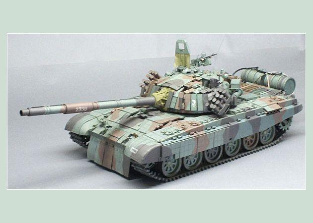 Mô hình giấy Xe tăng PT91-Twardy (T72) – Ba Lan   Papercraft Xe tăng PT91-Twardy (T72) – Ba Lan.