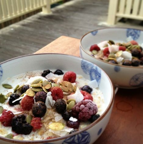 I'm trying to pin it to win it I Quit Sugar: Super Simple Porridge