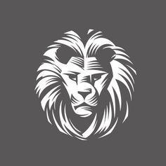 simple lion vector - Google Search