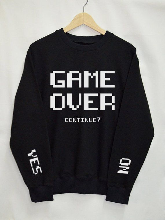 Mens New Sweatshirt Sweater Hoodie Jumper Pullover Back Arm Text Graphic Print