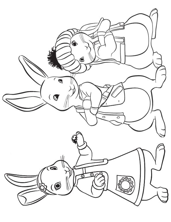 peter rabbit cartoon coloring pages - photo#6