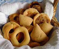 Rosquillas, Empanadas and Viejitas made of corn ( Nicaraguan typical food)