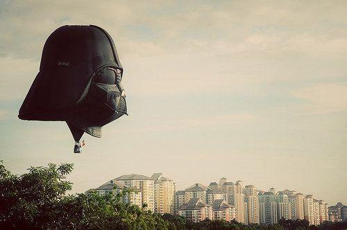 para un relajante paseo en globo este fin de semana...