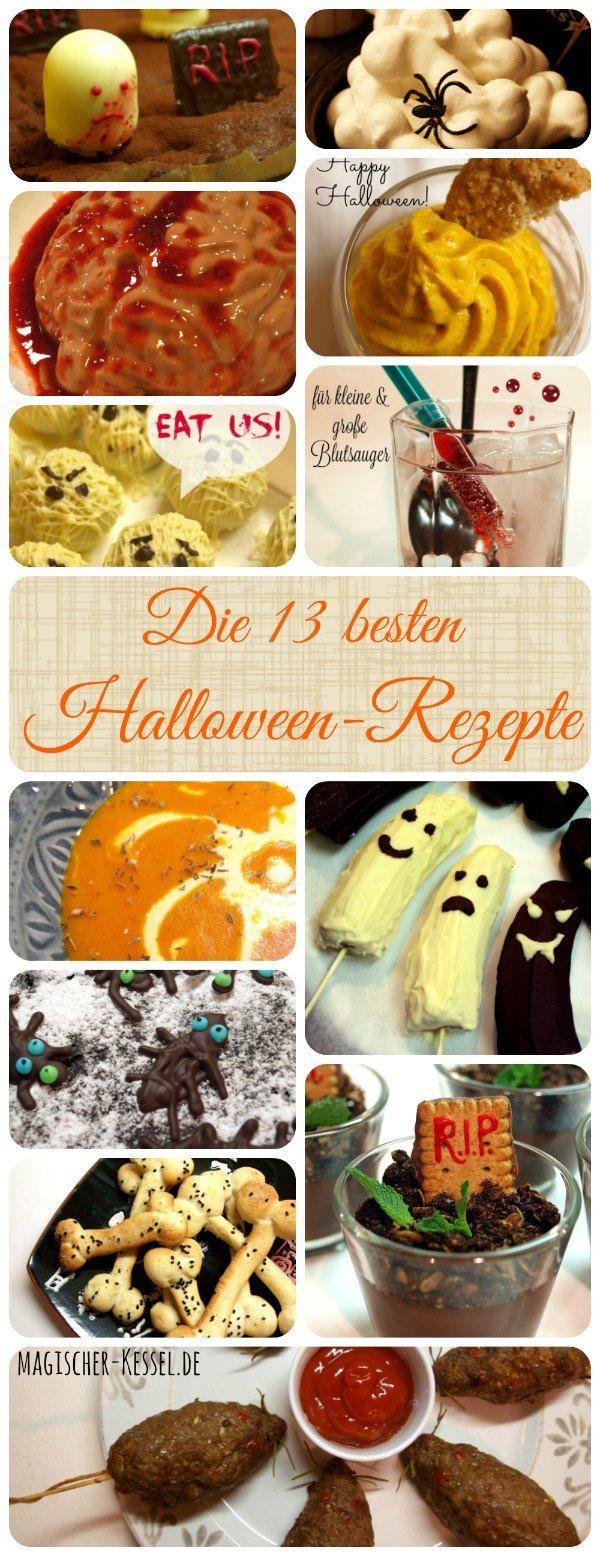 94 besten Halloween-Rezepte Bilder auf Pinterest | Halloween rezepte ...