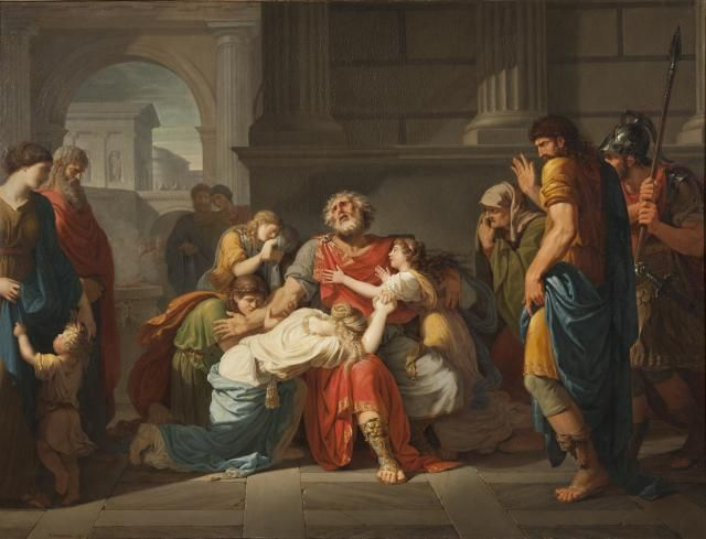 The Oedipal Complex: One of Freud's Most Controversial Ideas: The Blind Oedipus Commending his Children to the Gods, 1784.