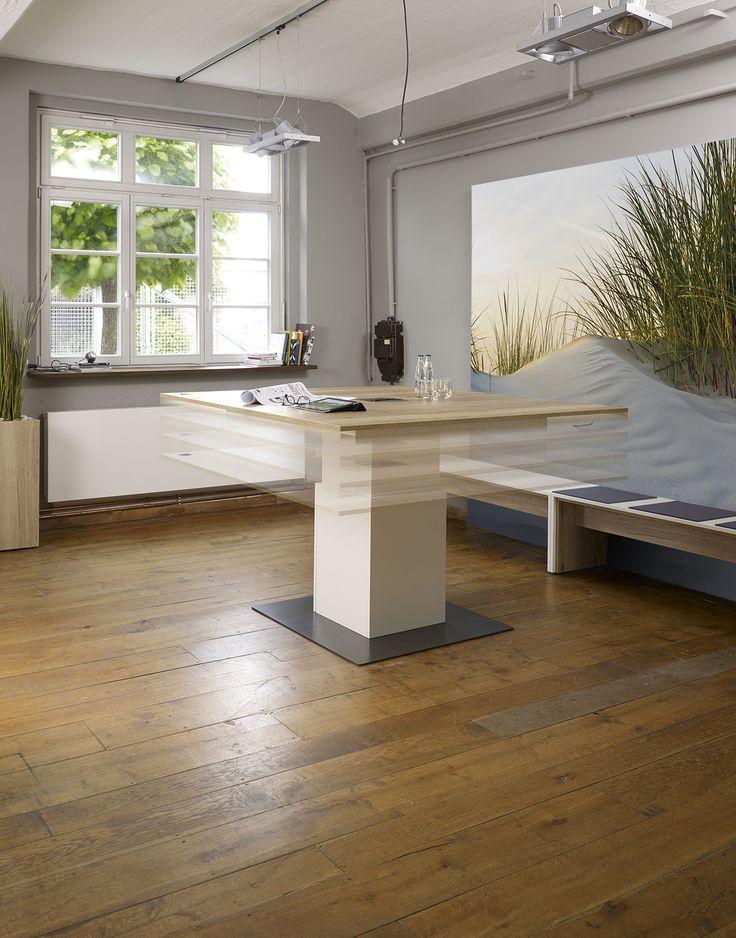 ber ideen zu h henverstellbarer schreibtisch auf pinterest elektrisch. Black Bedroom Furniture Sets. Home Design Ideas