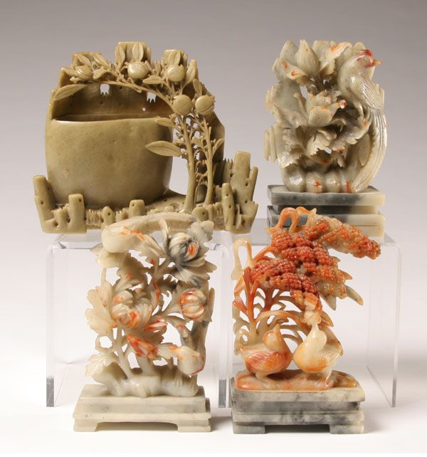 Best images about carved chinese soapstone on