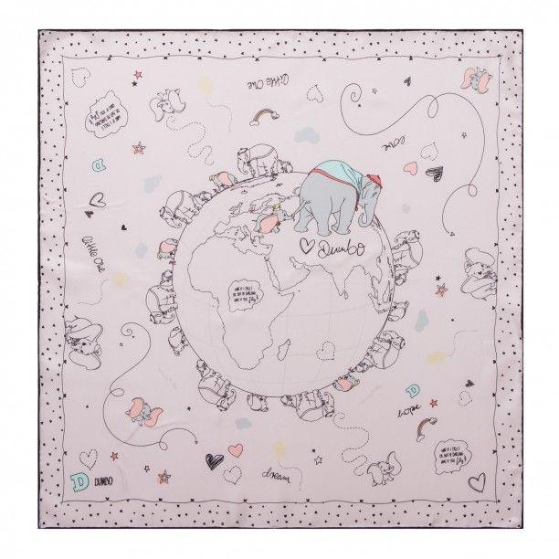 Seiden-Tuch mit Dumbo-Muster light pink | Farbenfroh, qualitativ hochwertig und unkonventionell - diese Attribute kennzeichnen das hübsche Tuch im unverkennbaren CODELLO-Design. Es besteht aus reiner, fließender Seide, die der Haut schmeichelt. Das Design mit dem verspielten Dumbo-Muster macht jedes Outfit im Handumdrehen zum Eyecatcher.  Dumbo-Muster |  Größe: 53 x 53 cm