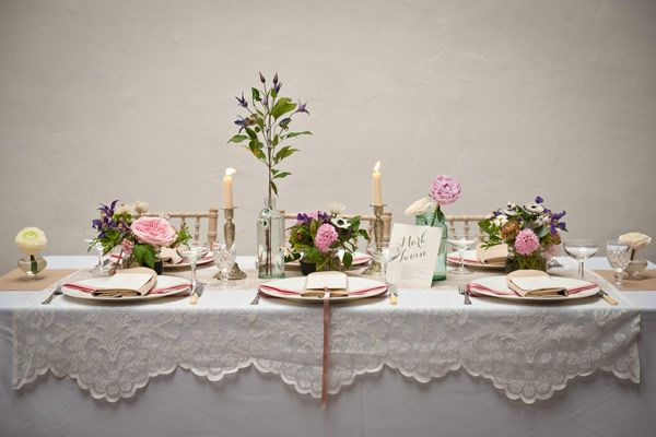 Ooooh La La, A Little French Country Style Romantic Wedding Inspiration