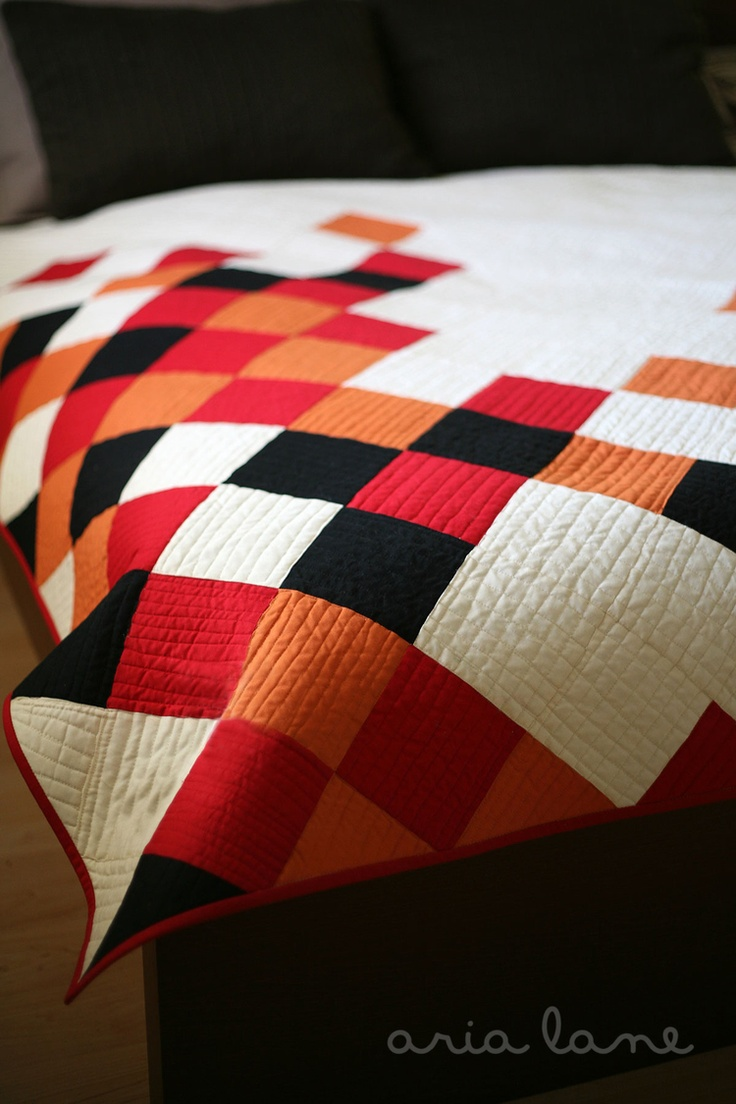 Concerto a Quilt Finish and Quilt Pattern — Pile O' Fabric