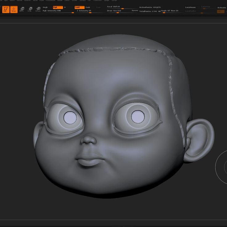 Work in progress new toy design based on the amazing character from Stranger Things digitally sculpted in ZBrush