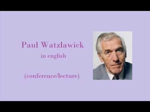 Paul WATZLAWICK - part 1 of 9 (in english)