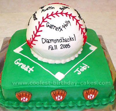 Coolest Baseball Cakes