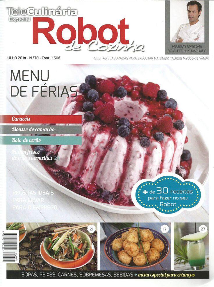 TeleCulinária Robot de Cozinha Nº 78 – Julho 2014