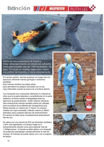 #dummy #fuego #simulación #percha #maniqui #maxpreven