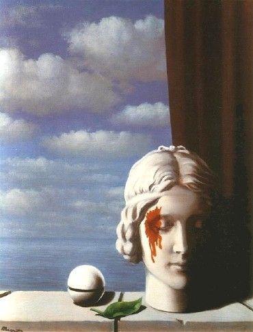 René Magritte - La Mémoire                                                                                                                                                                                 More