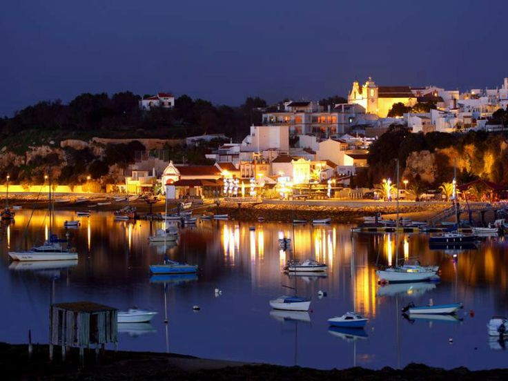 Alvor by night