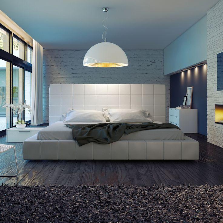 Modloft Thompson Platform Bedroom Collection | AllModern