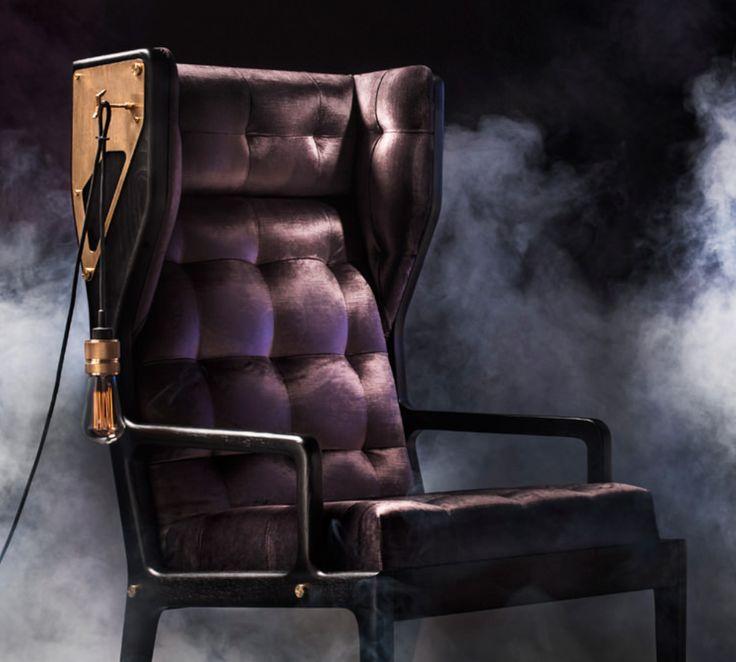 Wingback Remix. Cool lounge chair. Lænestol.