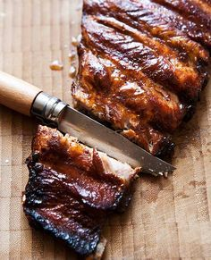 Pressure Cooker Ribs | Janet Zimmerman (Recipe We confess, we'd never imagined you could turn ribs fall-off-the-bone tender in 30 minutes. This recipe made believers out of us.)
