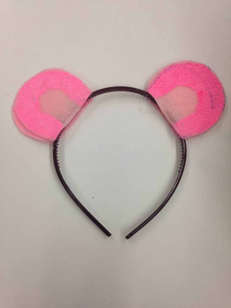 pink panthers headband ears