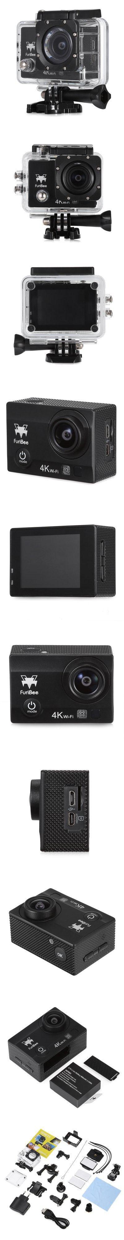 FuriBee Q6 WiFi 4K Ultra HD Action Sport Camera EU PLUG-38.13