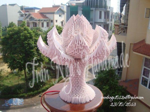 3d origami lotus lam… | Album | Nga | 3D Origami Art