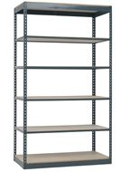 Rivet System Series 3 Boltless Industrial Shelving units have an increased capacity of up to 600 lb. per shelf and 1,000 lb. on the bottom shelf.  Single units start at just $65.39. Order today! 1-800-966-3999 http://www.actionwp.com
