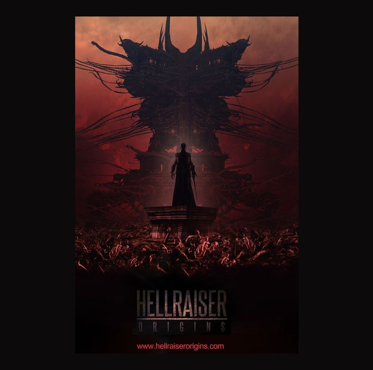 HELLRAISER ORIGINS : HEART OF THE BEAST, Paul Gerrard on ArtStation at https://www.artstation.com/artwork/yDv08