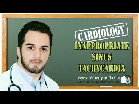 Inappropriate sinus tachycardia a heart rhythm disturbance