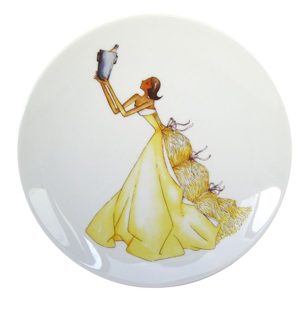 From Paris with Love Porcelain Plates  Collection Madame Recoit-Haviland (1)