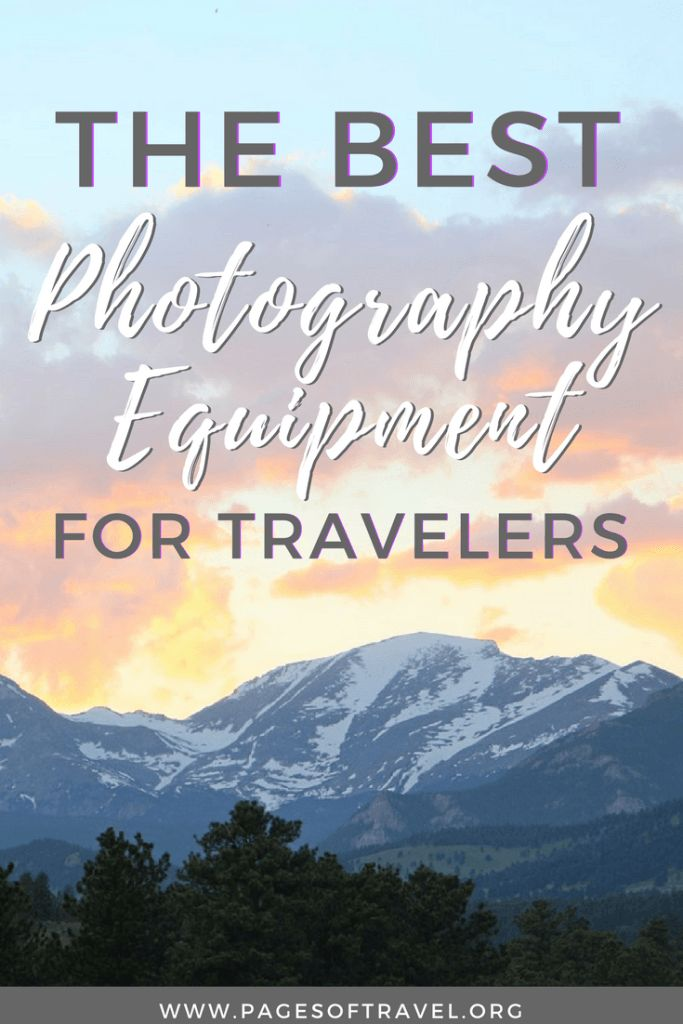 Looking into purchasing some new camera equipment? This list of travel photography gear is perfect for those starting out in photography or a seasoned pro. www.pagesoftravel