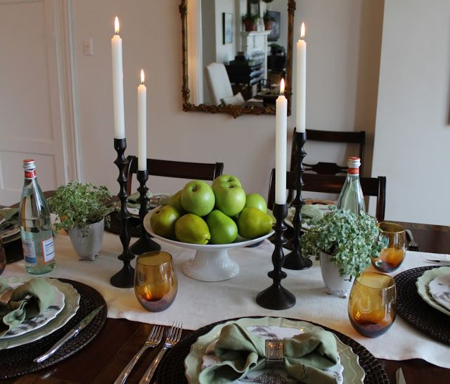 17 best images about centerpieces for the table on for Casual dining table centerpiece ideas