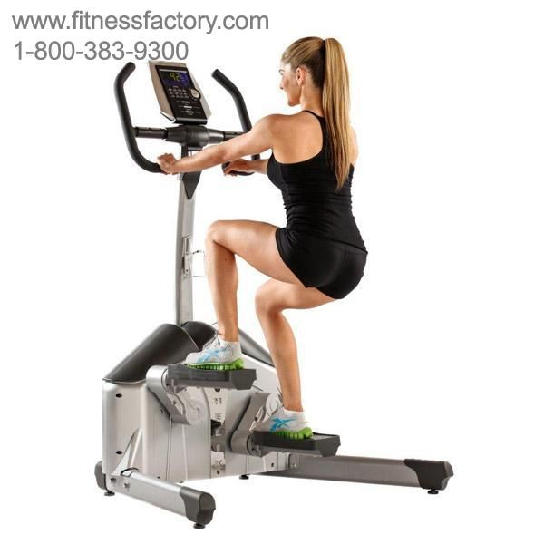 The programmable Helix H1000 is the latest version of the Original Helix Aerobic Lateral Trainer. This latest version adds the benefits of a Multi-Program Console and automatic electronic resistance control.