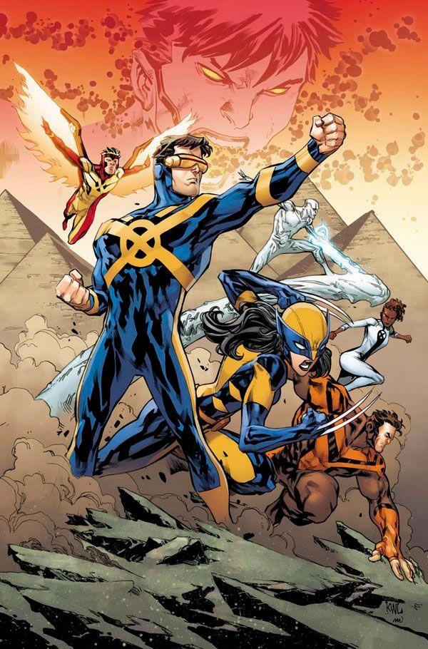 All New X-Men vs Kid Apocalypse byKen Lashley