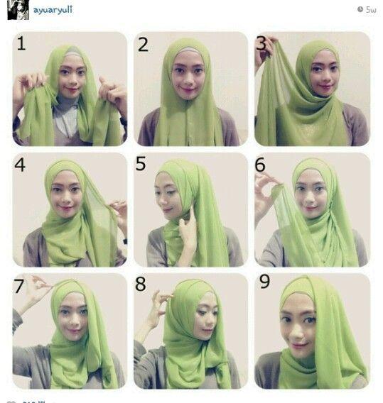 Flowing Side Hijab Tutorial