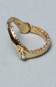 Disney Couture Jewelry The Little Mermaid Collection Shark Jaw Ring
