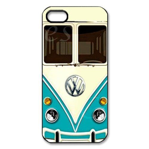 I am a VW Bug driver so this design appeals to me for more personal reasons, but there are still interesting design aspects. I like the use of the robin's egg type blue coloring against the light tan to bring your eye to that region. The VW logo is then perfectly positioned in not only the center of the case, but in the crease of the tan section so your eye is immediately drawn to it. That way you can tell tis isn't just any car but one of the vintage VW vans.