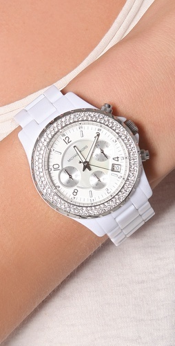 Madison Glitz Chronograph Watch - Michael Kors