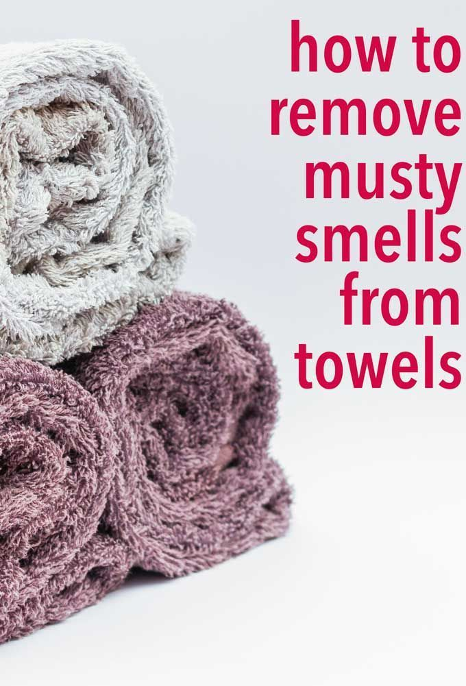 How To Remove Musty Smells From Towels Smelly Towels Towels
