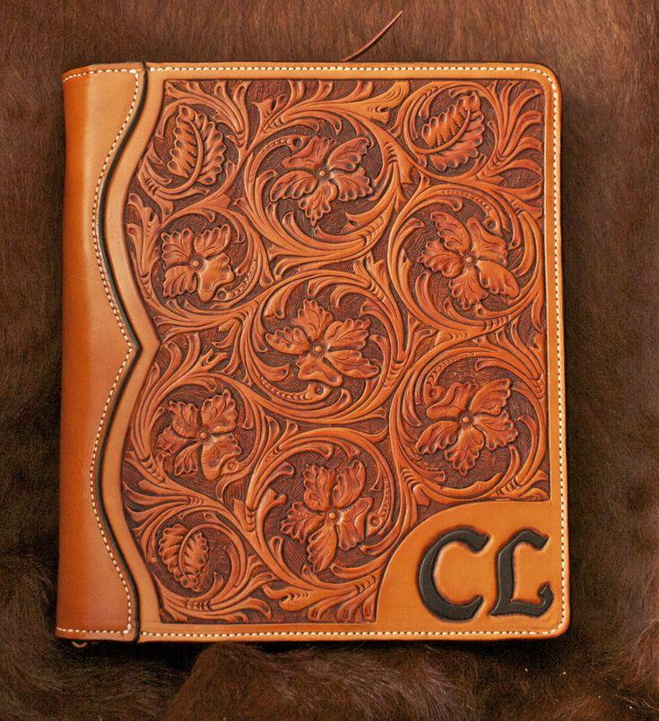 Grady Douglass Custom Leather: Custom iPad cover