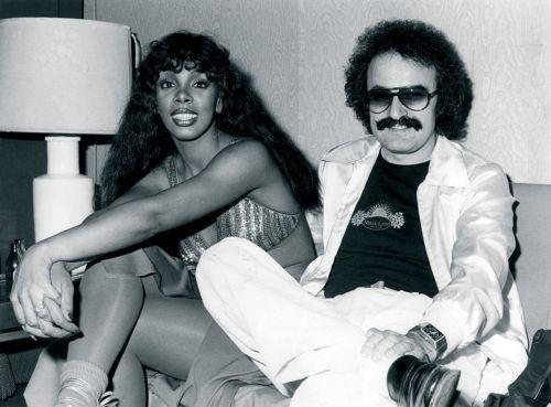 Донна Саммер и Джорджио Мородер, 1970-е гг.