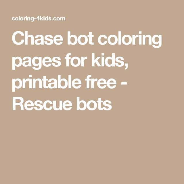 13 best Children images on Pinterest Birthdays, Birthday party - new coloring pages for rescue bots