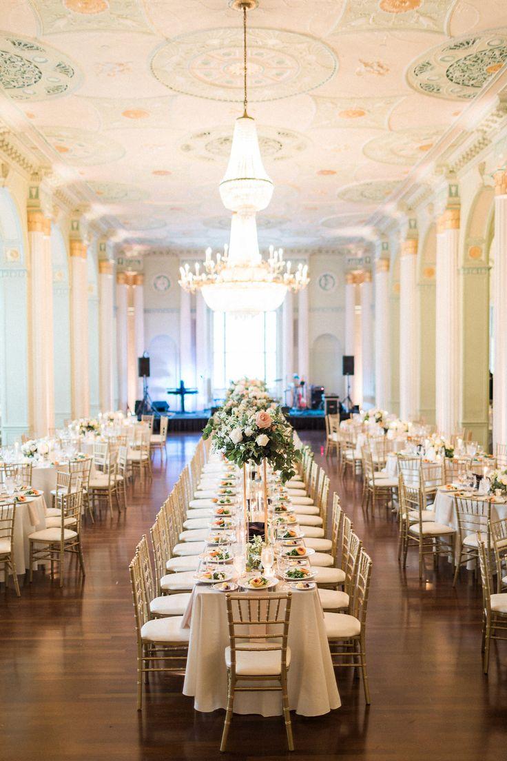 Elegant Biltmore Ballrooms Wedding Reception