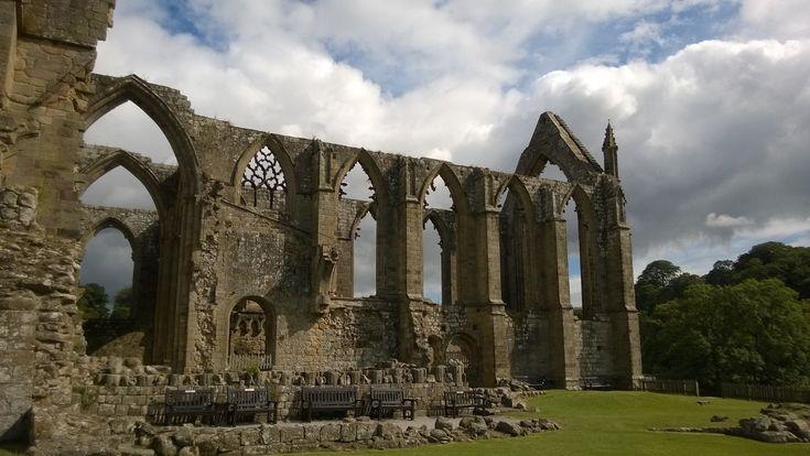 Bolton Abbey, Skipton, North Yorkshire, UK