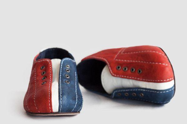 KINGPIN BABY SHOES—A patriotic take on a Bowling shoe
