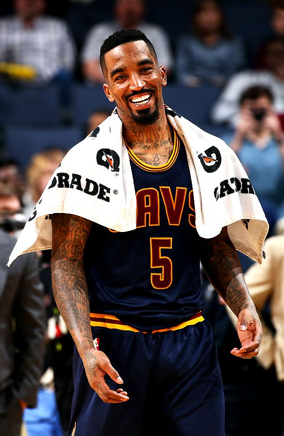 A microwave ready to heat up at any time in JR Smith. One of the league's best role players.