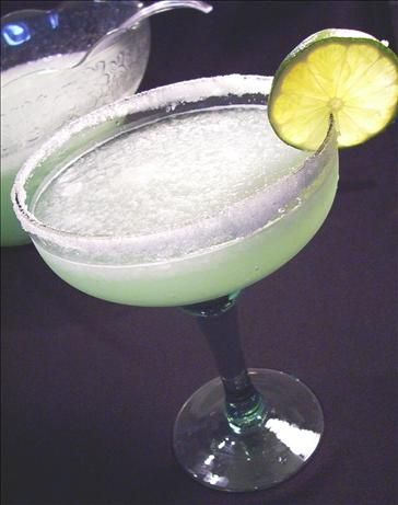 Margarita Punch from Food.com:   								Non-alcoholic punch that works well with so many menus- fiestas, outdoor grilling, beach parties etc.. Throw in a pinata for lots of fun!