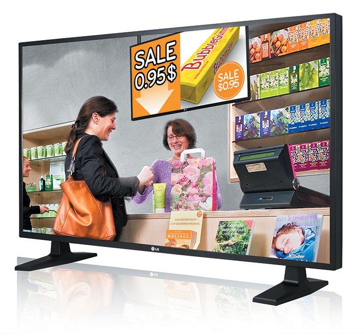 Série WL10 : Moniteur Standard LED - Entrée de gamme : 42'' et 47''. Dalle IPS(1) - LED DIRECT LED. 400cd/m² - 9ms - HDMI. Fonction mur d'images 5 x 5. Mode Portrait & Paysage. Fonction Média Player intégrée (USB Playback). Réf. WL10 Livré sans les pieds. http://www.exertisbanquemagnetique.fr/info-marque/L-G/ #LG #Moniteur #Informatique #Multimedia